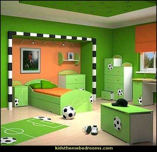 17 Best Ideas About Soccer Themed Bedrooms On Pinterest