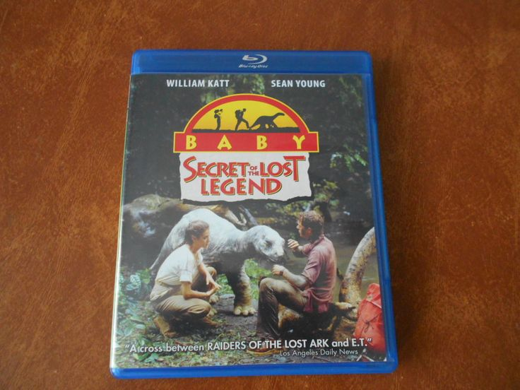 Baby: Secret of the Lost Legend Blu-ray Very Good Condition