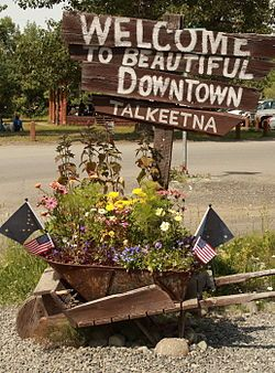 Google Image Result for http://upload.wikimedia.org/wikipedia/commons/thumb/6/60/Welcome_to_beautiful_downtown_Talkeetna.jpg/250px-Welcome_to_beautiful_downtown_Talkeetna.jpg