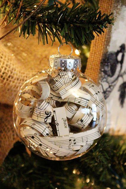 25+ best Sheet music ornaments ideas on Pinterest | Sheet music ...