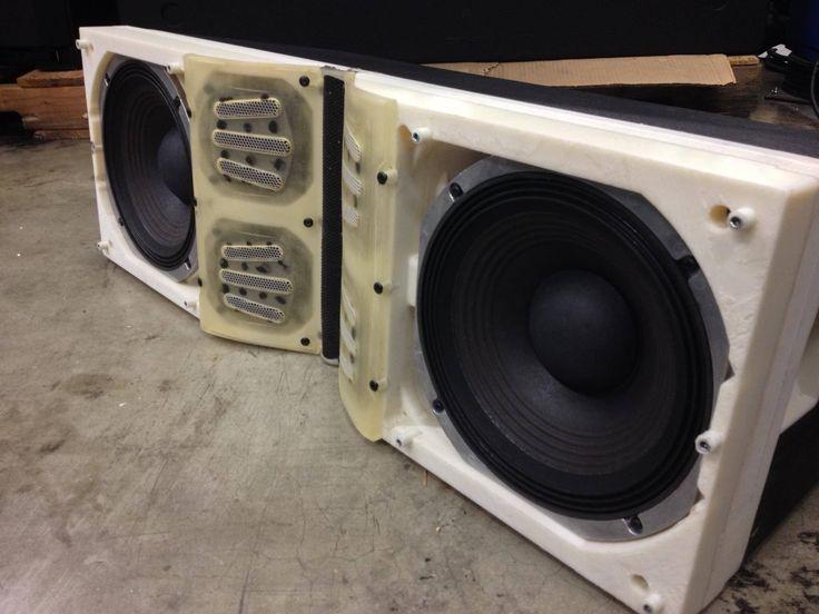 3D printed concert speaker by JBL