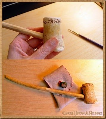 Once Upon A Hobbit: A Simple Hobbit Pipe - Every Hobbit Should Have One !
