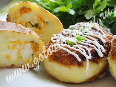 Картофельные зразы | Готовьте с нами
