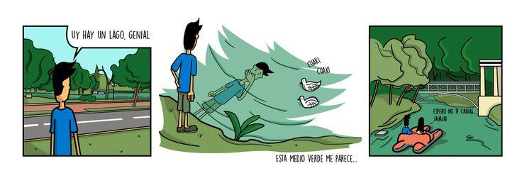 Como perderse...: Un lago para nadar