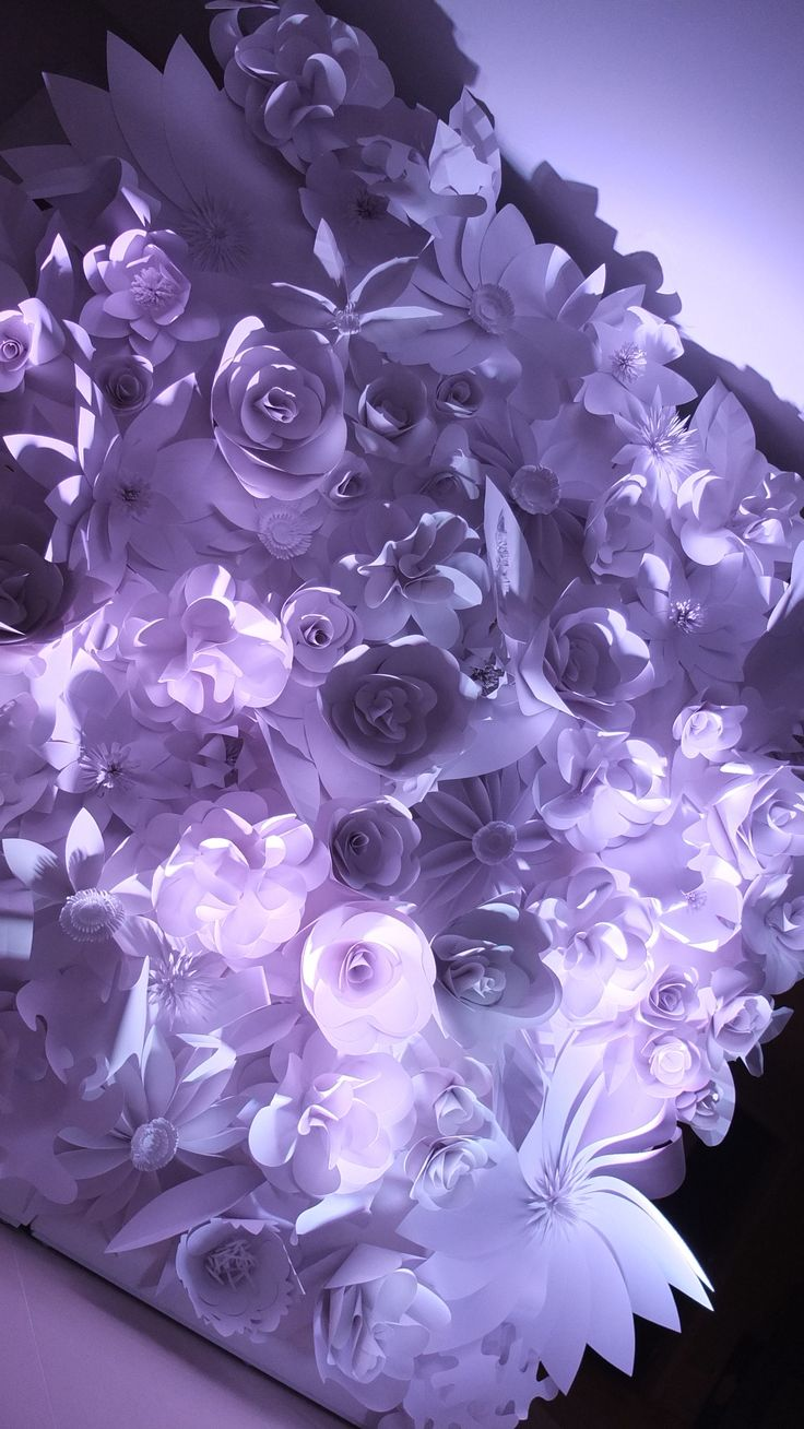 The 91 best images about popierins gls paper flowers on paper flower wall dhlflorist Images