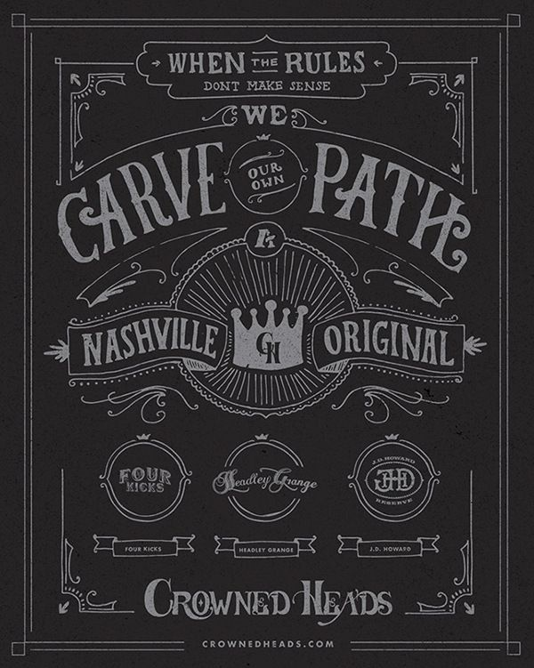 Crowned Heads Cigars-Poster by Stephen Jones, via Behance
