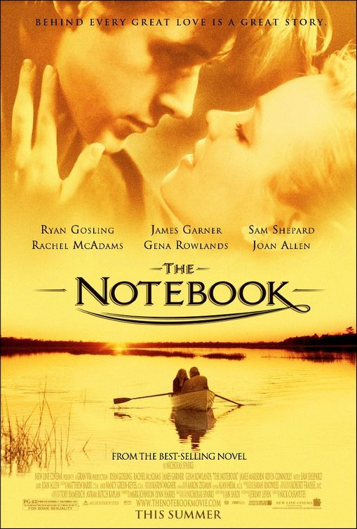 loved this book...Film, Ryan Gosling, The Notebooks, Book Worth, Thenotebook, Nicholas Sparkly, Favorite Movie, Romances Novels, Gold Coins