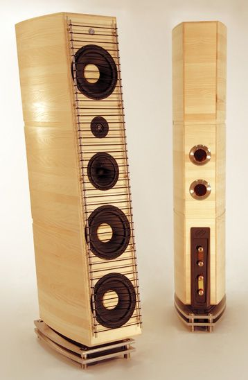 High end Audio audiophile Tower speakers
