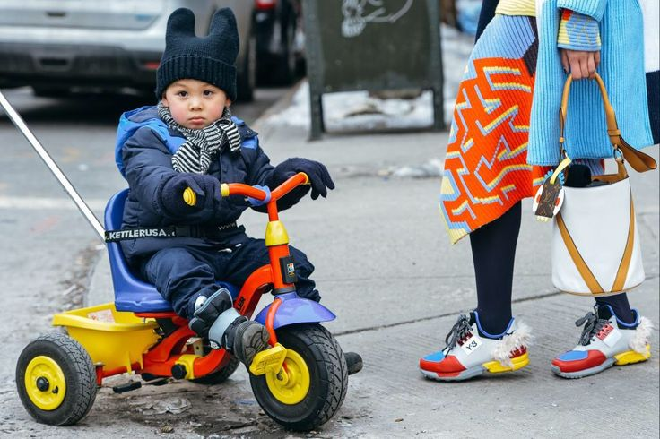 the babies of fashion week