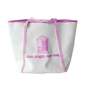 Le borse di A.D.B Shopper Spiaggia Fucsia Big