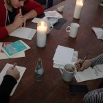 A letter writing event at NACO #toronto #letters