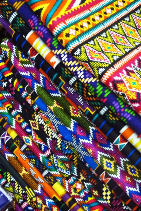 patterns-I'm inspired by colorful ethnic patterns, artistically and for fashion.
