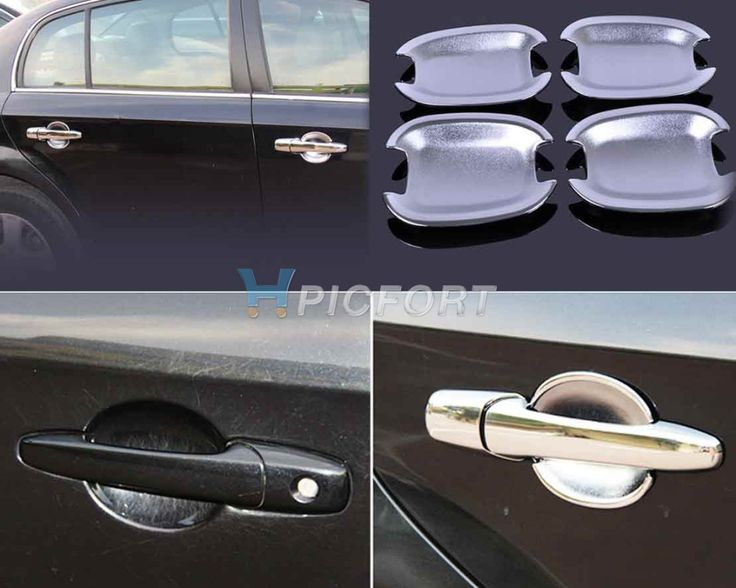 New Chrome Door Handle Cup Bowl Cap Trim Cover Fit for Chevrolet Cruze Aveo Captiva Spark Buick Excelle LaCrosse 2009 2010 2011 #Affiliate