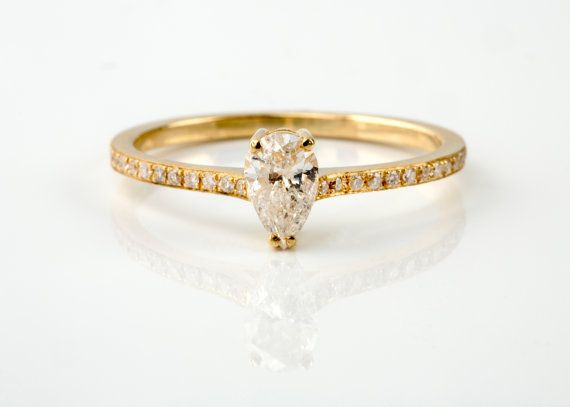 Instant order.... natural diamonds, solitaire ring. Danelian Jewelry goldsmith workshop, custom made rings. Promise, anniversary & statement rings that make the difference among all the rest...