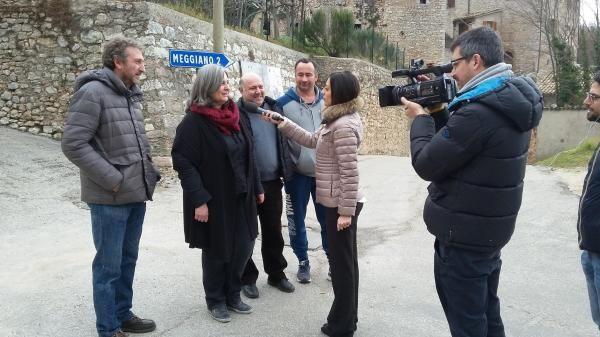La RAI: Vallo di Nera rappresentati i problemi di ricezione di milioni di italiani
