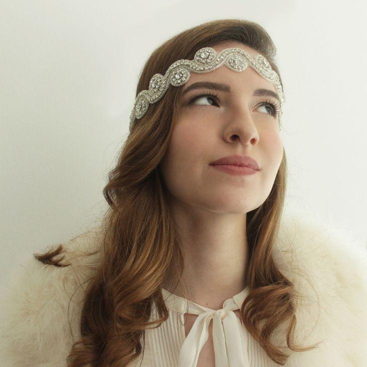 """""""Sienna"""" saç bandı – Elsa&Bambi Gelin Aksesuarları"""
