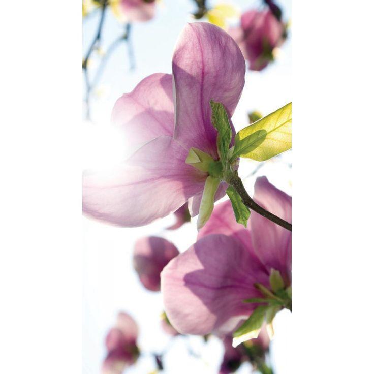Magnólia virágos függöny #függöny #mangólia #virág #lakberendezés