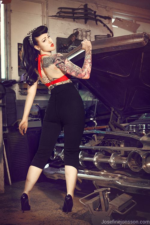 67 best A Modern Day Pin Up Garage Tools images on ...