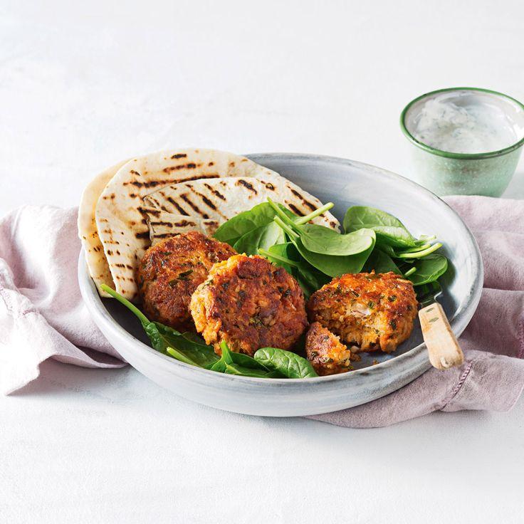 How to make Tandoori Salmon & Basmati Rice Patties #Salmon #Dinner #Rice #Tandoori