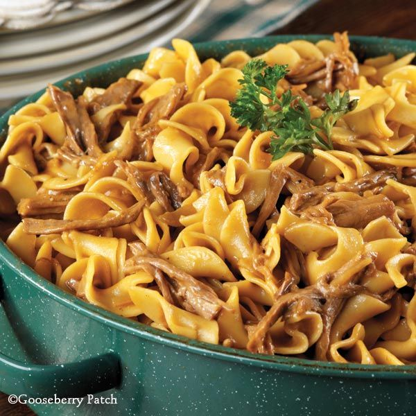 Gooseberry Patch Recipes: Oven Beef & Noodles. Super easy comfort food!
