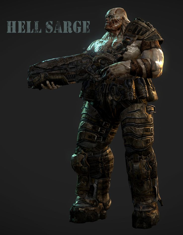 Hell Sarge First Marine to be reeducated lost command after the zombies came out with Robots