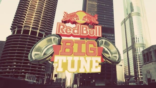 Opening title sequence for the 2010 Red Bull Big Tune competition. Red Bull Big Tune is a TV show in which 18 of the nation's premiere hip-hop producers battle head-to-head for a chance at a record deal.