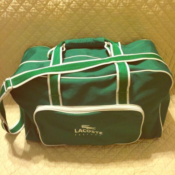 Lacoste fragrance gym/duffle bag large Like new large duffle bag Lacoste Bags Travel Bags