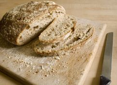 Spent Grain Bread!  I've been looking for a good bread recipe to use for our spent beer grains.