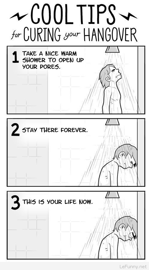 Funny tips for Curing Your Hangover | Funny Pictures | Funny Quotes | Funny Jokes – Photos, Images, Pics