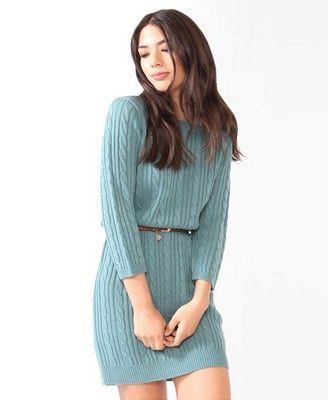 36626f07ad9 Love the color and the fact that this is a sweater dress. See more at