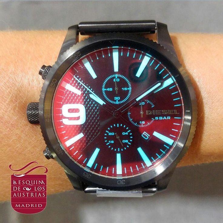 Acércate ya a la Plaza Mayor y descubre las novedades de nuestras mejores firmas para esta temporada!  DIESEL Reloj Rasp Chrono Acero - Negro/Multi - (59 mm)  Precio: 239  #Diesel #Smartwatch #watch #watches #watchlover #watchlovers