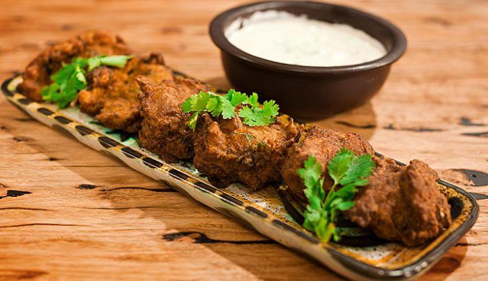 Indian Cauliflower Fritters - Good Chef Bad Chef