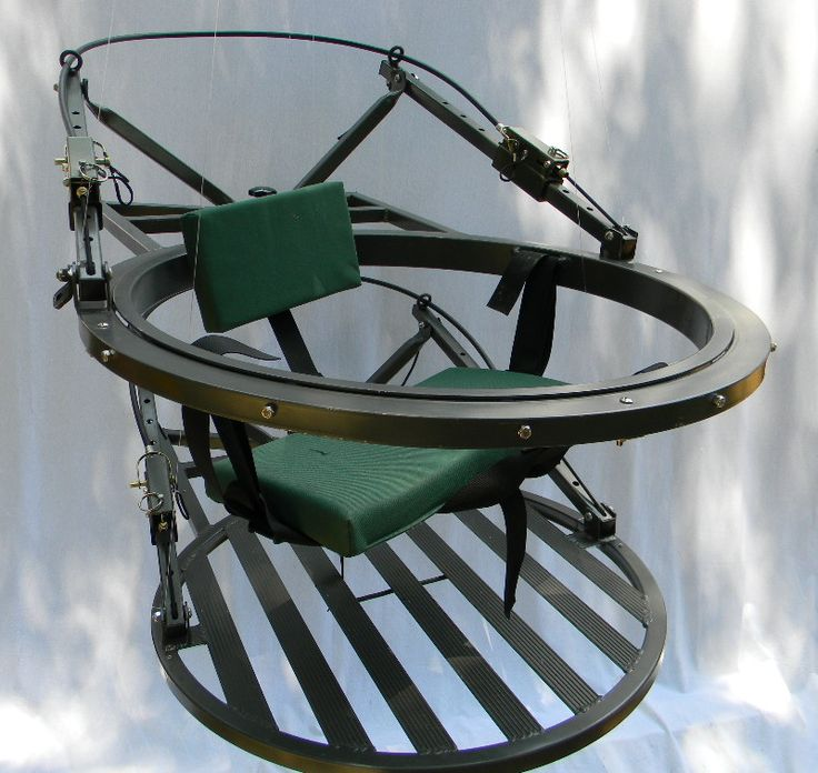Mancini 360 The only 360 rotating climbing stand! With the Mancini 360 there is no WRONG SIDE!