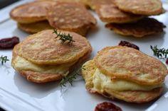 Low Carb Pancakes. Ein leckeres Rezept für kohlenhydratarme Pfannkuchen mit einer süßen Füllung oder einer salzigen Füllung. Low Carb Blog München
