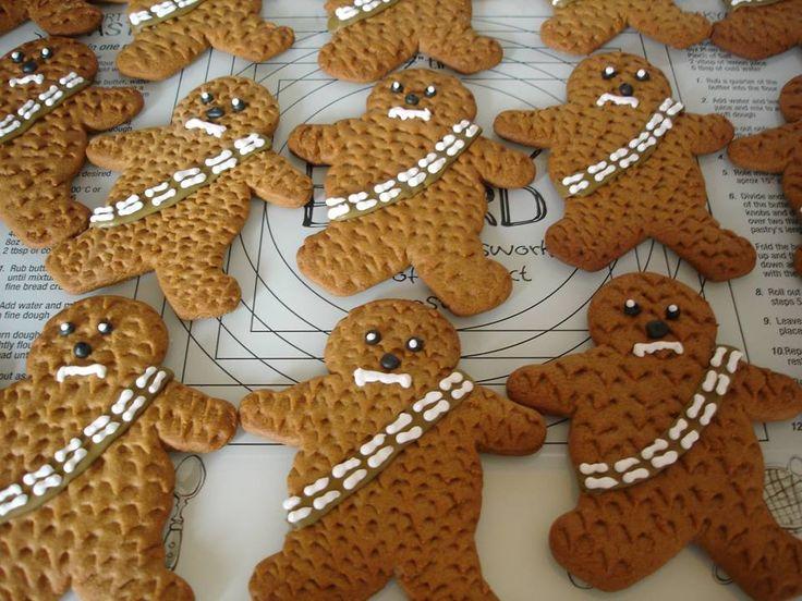 Chewbacca Cookies