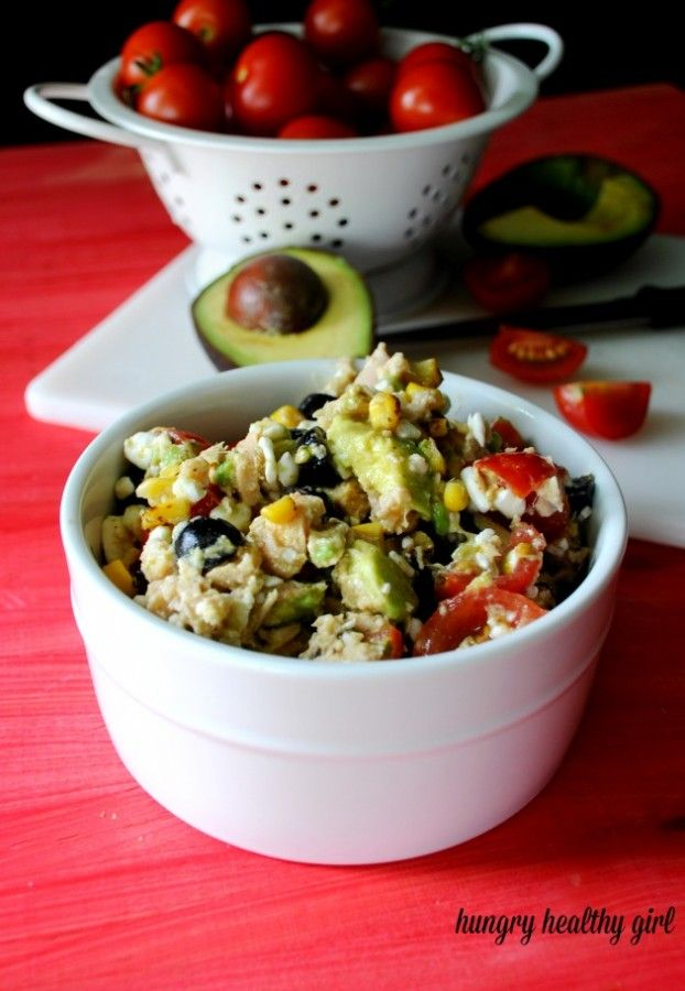 Cottage Cheese Tuna Salad- A family favorite and you'll never miss the mayo!