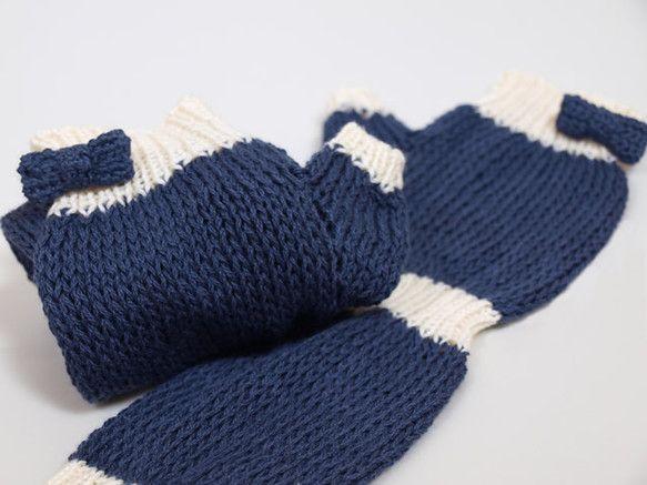 UV対応の夏糸を使用しています。メリアス編みは棒針8号、一目ゴム編みは棒針3号で編んでいます。コサージュピンをつけたリボンをポイントにつけてみました。もちろん...|ハンドメイド、手作り、手仕事品の通販・販売・購入ならCreema。