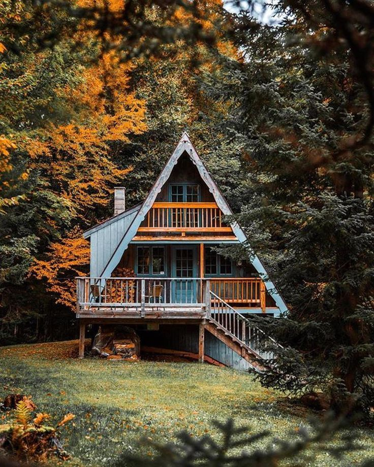 23 dreamy A-frame cabins we love – – #Genel
