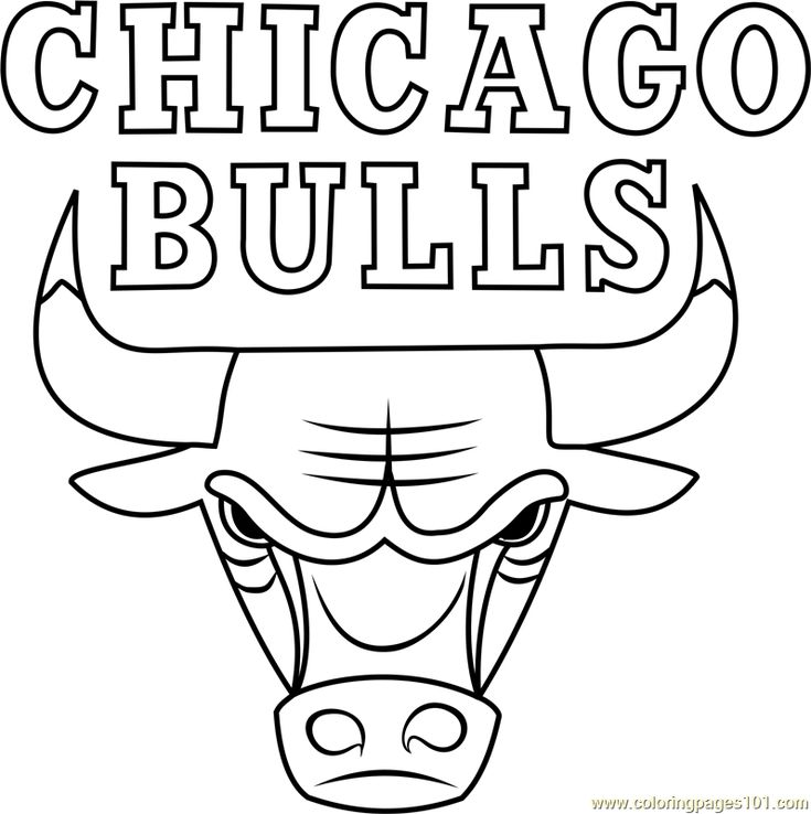 coloring book free chicago bulls coloring pages  more