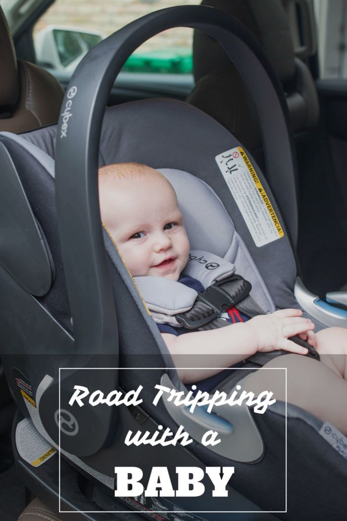 The best tips for road tripping with a baby! Road trips and traveling in general can be SO stressful for moms, especially when there's a baby involved, but here's how to ease the pain and make sure the trip is totally worth it! And why we love the Cybex Aton Q for long trips! #cybexdesign #ic #ad