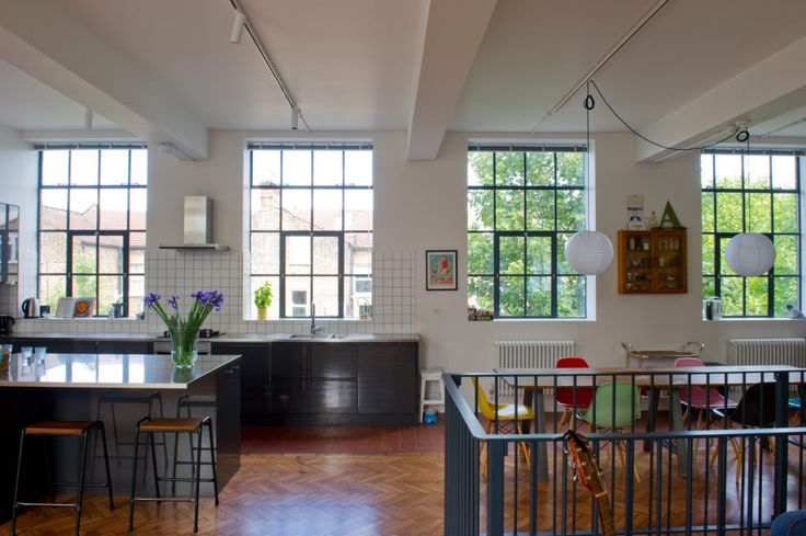 My Modern House: spatial designer Carlo Viscione's converted science block in Forest Gate | Journal | The Modern House