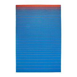 "MEJLBY Rug, flatwoven - IKEA Length: 9 ' 10 "" Width: 6 ' 7 "" Surface density: 5 oz/sq ft"