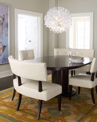 """Jordan"" Dining Furniture by Bernhardt at Horchow."