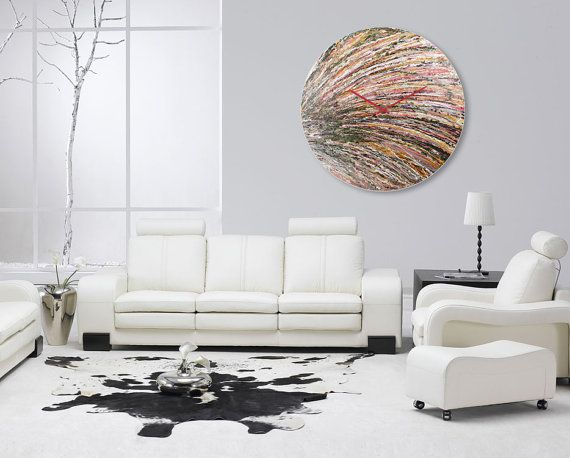 extra large wall clock oversized clock abstract by