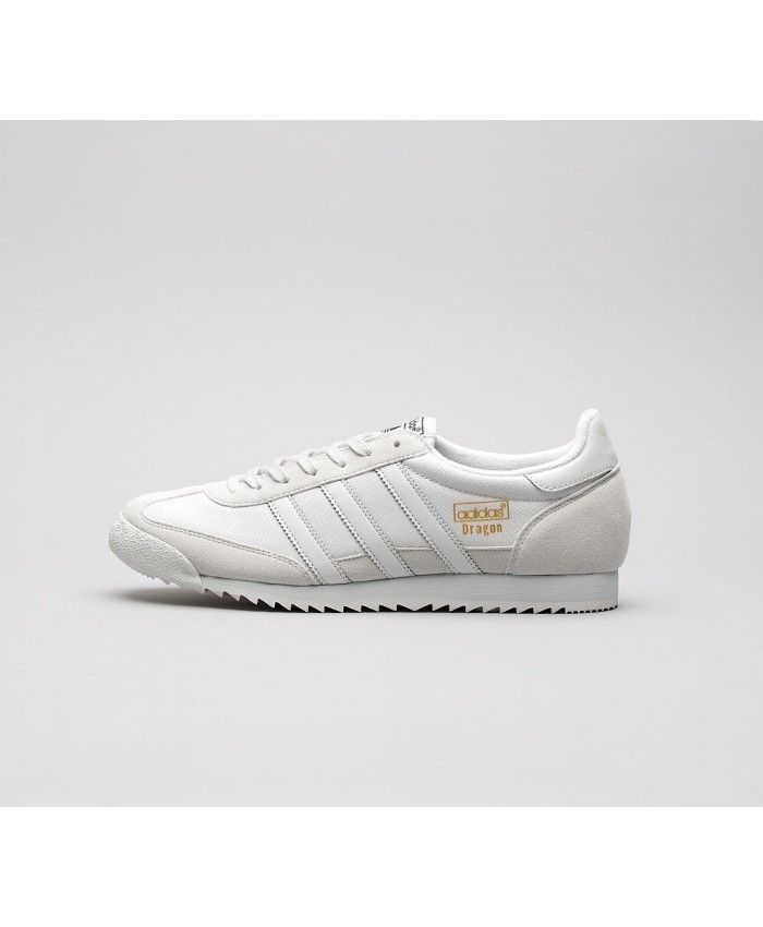competitive price 18f35 463ca Adidas Originals Dragon OG Trainers In Grey White