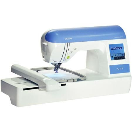 "Wishin for this! Brother PE770 Computerized Embroidery Machine with 5 x 7"" Hoop Size - Walmart.com"