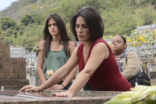 """Antonia Morais e Gloria Pires: """"Foi incrível trabalhar com ela"""", diz a filha da veterana atriz (Foto: Divulgação)"""