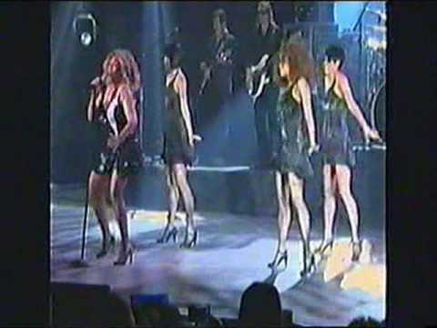 """Tina Turner - singing """"Proud Mary"""" nice and rough.  :)"""