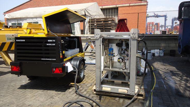 Kaeser M70 + Ecoquip EQ300S. Alianza de compañías que buscan el mejoramiento del ambiente con procesos ecoamigables