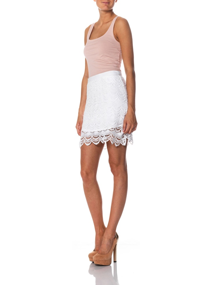 Love the skirt from Vero Moda